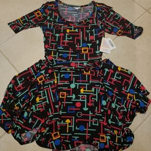 Lularoe Nicole Dress Small